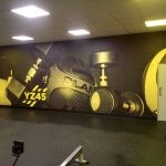large fomat printed wallpaper